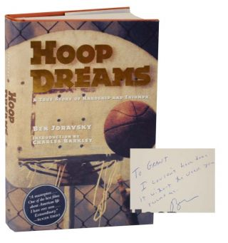 Hoop Dreams: A True Story of Hardship and Triumph (Signed First Edition). Ben JORAVSKY.