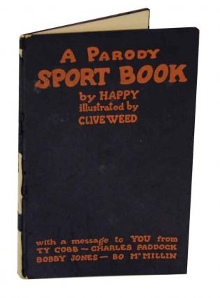 "A Parody Sport Book: Health Habits for ""Good Sports"" Clifford GOLDSMITH"