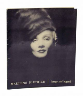 Marlene Dietrich: Image and Legend. Richard GRIFFITH
