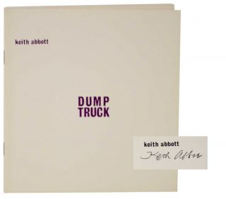 Dump Truck (Signed First Edition). Keith ABBOTT