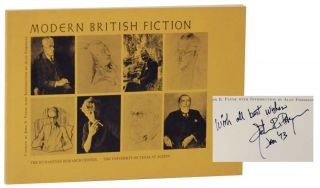 Modern British Fiction: An Exhibit of Books, Paintings and Manuscripts (Signed First Edition)....