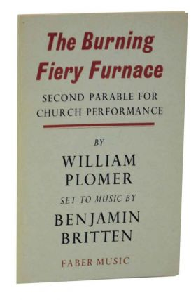 The Burning Fiery Furnace: Second Parable For Church Performance. William PLOMER