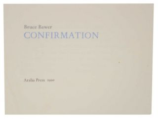 Confirmation. Bruce BAWER