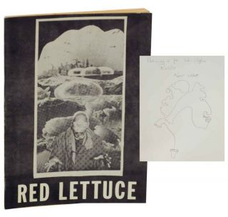 Red Lettuce (Signed Association Copy). Keith ABBOTT