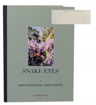 Snake Eyes (Signed Limited Edition). John GOSSAGE, Terri Weifenbach