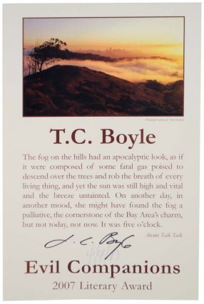 excerpt from Talk Talk - The Evil Companions Literary 2007 Award (Signed Broadside). T....