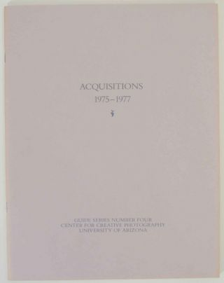Acquisitions 1975-1977. Sharon DENTON, compiler