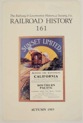 Railroad History No. 161, Autumn 1989