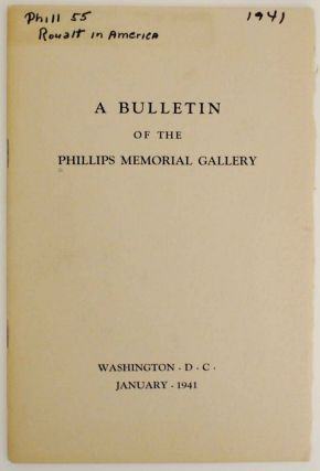 A Bulletin of The Phillips Memorial Gallery