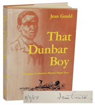That Dunbar Boy (Signed First Edition). Jean GOULD