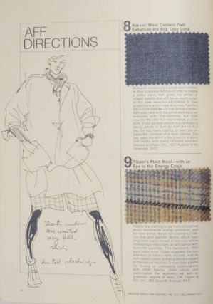 American Fabrics and Fashions (AFF) Number 111 Fall/Winter 1977