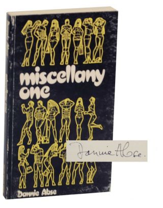 Miscellany One (Signed First Edition). Dannie ABSE.
