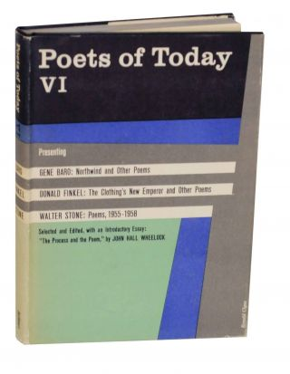 Poets of Today VI. Gene BARO, Walter Stone, Donald Finkel