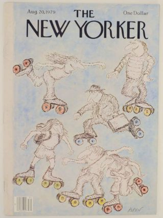 The New Yorker August 20, 1979. John UPDIKE, Larry Woiwode, James Wright, Ann Beattie