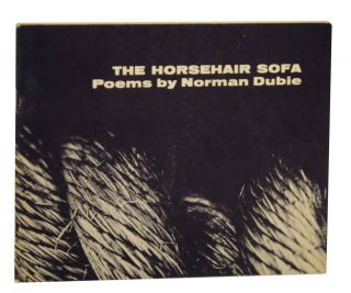 The Horsehair Sofa. Norman DUBIE