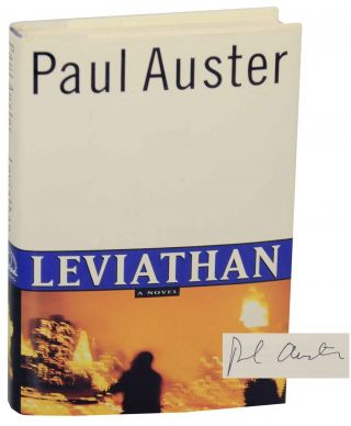 Leviathan (Signed First Edition). Paul AUSTER
