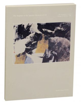 The Register of the Spencer Museum of Art Volume VI Number 3 1986 Modern Chinese Painting