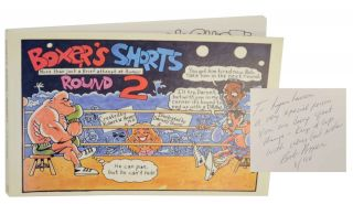Boxer's Shorts Round 2: More Than Just a Brief Attempt at Humor (Signed First Edition). Robert...