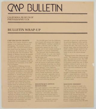 CMP Bulletin Volume 2 Number 4