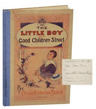 The Little Boy or Good Children's Street or How Fardee Won the Victoria Cross (Signed First Edition). Elizabeth H. BINFORD.