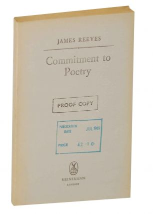 Commitment to Poetry. James REEVES
