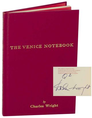 The Venice Notebook (Signed Limited Edition)
