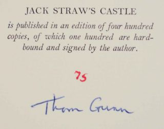 Jack Straw's Castle (Signed Limited Edition)
