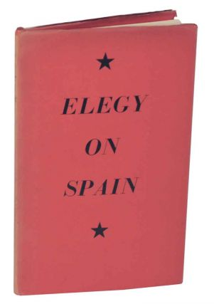 Elegy on Spain. George BARKER