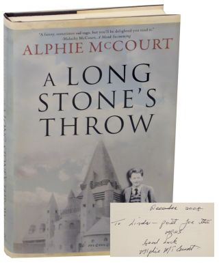 A Long Stone's Throw (Signed First Edition). Alphie McCOURT