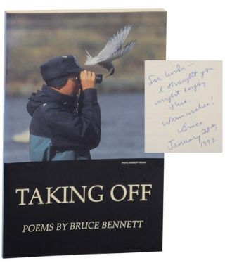 Taking Off: Poems, Parodies, Palimpsests (Signed First Edition). Bruce BENNETT