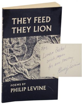 They Feed They Lion (Signed). Philip LEVINE