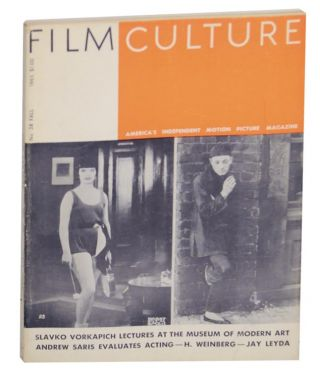 Film Culture No. 38 Fall 1965. Jonas MEKAS