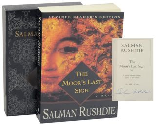 The Moor's Last Sigh (Signed Advanced Reading Copy). Salman RUSHDIE