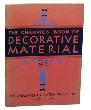The Champion Book of Decorative Material No. 2