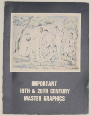 Important 19th & 20th Century Master Graphics