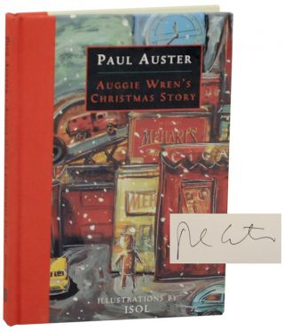 Auggie Wren's Christmas Story (Signed First Edition). Paul AUSTER