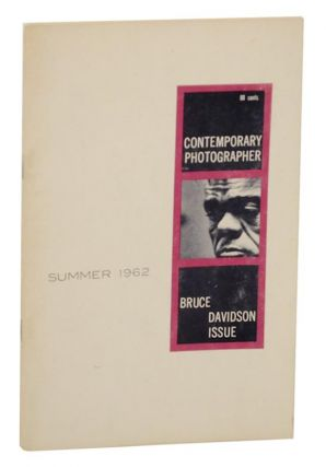 Contemporary Photographer: Bruce Davidson Issue, Summer 1962. Bruce DAVIDSON