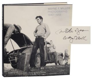 Wayne F. Miller: Photographs 1942-1958 (Signed First Edition). Wayne F. MILLER, Kerry Tremain