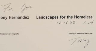 Landscapes for the Homeless (Signed First Edition)