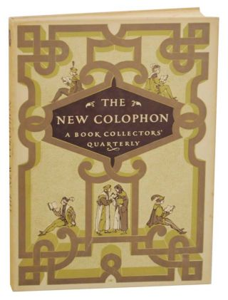 The New Colophon Volume II (2) , Part Eight (8