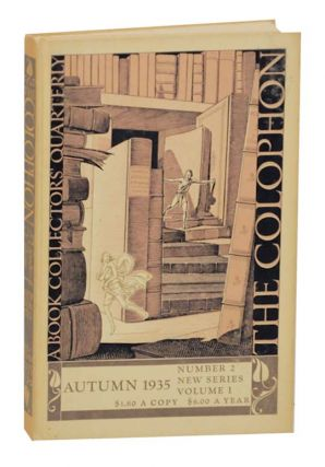 The Colophon A Book Collectors Quarterly New Series Volume 1 Number Two (2