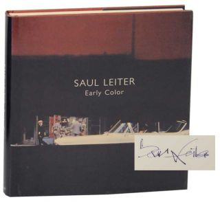 Early Color (Signed First Edition). Saul LEITER