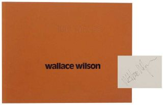 Light Places: A Book of Photographs (Signed First Edition). Wallace WILSON, James Baker Hall