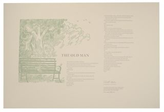 The Old Man (Signed Broadside). Robert COOVER