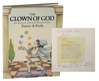The Clown God: An Old Story (Signed). Tomie DE PAOLA