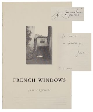 French Windows (Signed First Edition). Jane AUGUSTINE