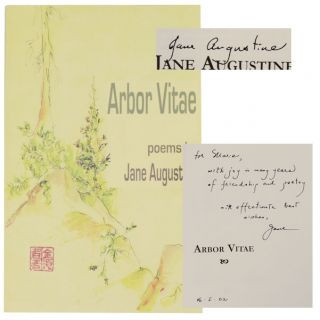 Arbor Vitae (Signed First Edition). Jane AUGUSTINE