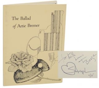 The Ballad of Artie Bremer (Signed First Edition). Stephen VINCENT, Michael Myers