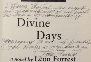 Divine Days (Signed First Edition)