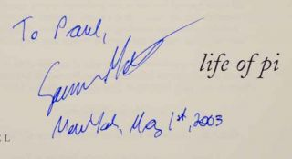 Life of Pi (Signed First Edition)